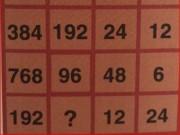 Giáo dục - du học - Bài toán hóc búa: Tìm số thích hợp điền vào dấu ?