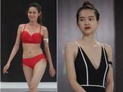 Thời trang - Mẫu nữ mặt xinh, dáng đẹp catwalk với đồ bơi ở Hà Nội