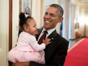Thế giới - Những khoảnh khắc chơi đùa thoải mái của ông Obama