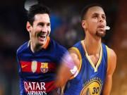 """Bóng đá - """"Chuyện tình"""" của Messi với """"Messi bóng rổ"""""""