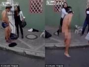 Phi thường - kỳ quặc - Kẻ cướp bị cô gái bắt cởi sạch quần áo ở Colombia