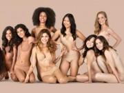 Thời trang - Bộ sưu tập nội y nude đặc biệt gây tiếng vang lớn