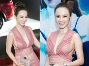 Thời trang - Angela Phương Trinh gây sốc với chiếc váy quá bạo