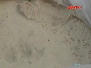Video An ninh - Hãi hùng cảnh chế mỡ bẩn từ da trâu bò thối