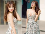 Thời trang - Hương Giang Idol và cách mặc gợi cảm, mát mẻ ngày hè