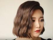 Làm đẹp - Tự tạo xoăn sóng nước cho tóc ngắn đã xinh càng xinh