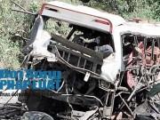 Tin tức trong ngày - Hiện trường vụ nổ xe khách làm 9 người Việt chết ở Lào