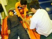 Tin tức trong ngày - Cứu ngư dân bị liệt nửa người trên vùng biển Hoàng Sa