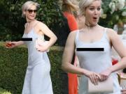 Thời trang - Jennifer Lawrence táo bạo với mốt không nội y