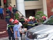 Tin tức trong ngày - Cháy ở Đài PT-TH Hải Phòng, 1 trưởng phòng thiệt mạng