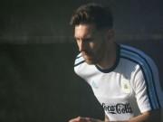 Bóng đá - Messi râu ria lạ mắt, miệt mài tập luyện sau vụ hầu tòa