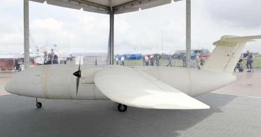 Chiếc máy bay đầu tiên in bằng công nghệ 3D