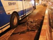 Tin tức trong ngày - TPHCM: Thanh niên bị xe buýt cán chết ở cầu Bình Triệu