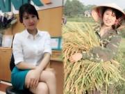 Bạn trẻ - Cuộc sống - Cô gái xinh đẹp nổi tiếng vì bức hình đi gặt lúa
