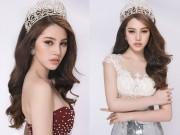 Thời trang - Hoa hậu Jolie Nguyễn gợi cảm với đầm ren mỏng manh