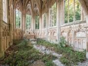 Thế giới - Vẻ đẹp kỳ quái bên trong những tòa nhà bỏ hoang