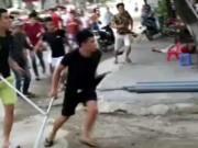 Video An ninh - Clip: 60 côn đồ truy sát một gia đình ở Phú Thọ