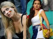 Thời trang - Vẻ đẹp quyến rũ hút hồn của fan nữ Pháp và Romania