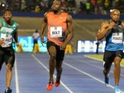 """Thể thao - Usain Bolt bị vấp, suýt ngã vẫn cho đối thủ """"hít khói"""""""