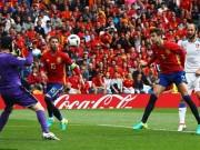 Bóng đá - Tây Ban Nha - CH Séc: Cú đánh đầu 3 điểm