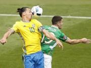 """Bóng đá - CH Ailen – Thụy Điển: Siêu sao """"gánh"""" cả đội"""