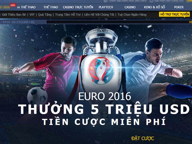Đánh sập đường dây cá độ 7.600 tỷ đồng mùa Euro 2016