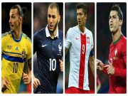 Bóng đá - EURO 2016: Châu Âu hết sạch siêu tiền đạo rồi sao?