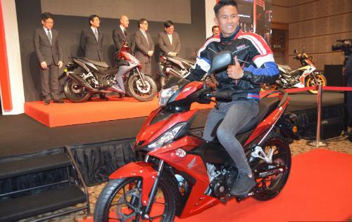 Honda Winner 150cc bản Repsol đã chính thức trình làng tại Malaysia