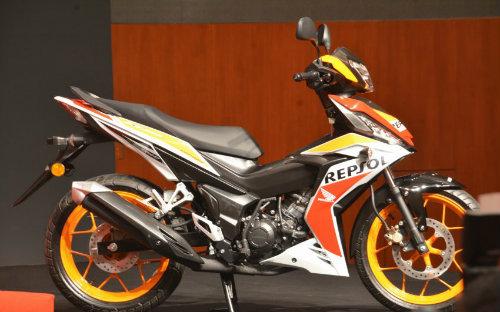 Honda Winner 150cc bản Repsol đã chính thức trình làng tại Malaysia 2