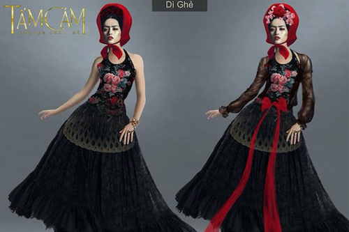 Biến tấu trang phục gây tranh cãi ở phim cổ trang Việt - 2