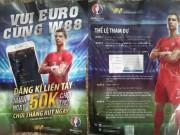 An ninh Xã hội - Cần Thơ: Phát tờ rơi mời chào… cá độ bóng đá Euro 2016