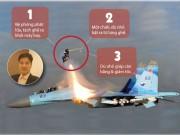 Thế giới - [Đồ họa] Cú nhảy thoát hiểm của phi công Su-30