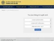 Giáo dục - du học - Hà Nội chính thức tuyển sinh lớp 1, lớp 6 trực tuyến