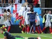 """Bóng đá - Ảnh đẹp Euro 17/6: Người Anh khiến Bale """"bẽ mặt"""""""