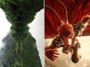 Thế giới - TQ: Núi thiêng có hình giống mặt Tôn Ngộ Không