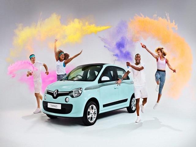 """Ngắm Renault Twingo """"The Color Run"""" bản đặc biệt mới"""