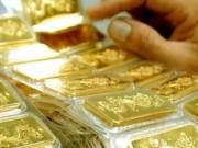 Tài chính - Bất động sản - Cuối tuần, vàng lại đột ngột đi lên