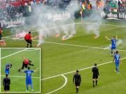 Bóng đá - Video HOT EURO 18/6: Tiki-taka, pháo sáng và… mất điểm