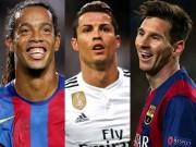 """Bóng đá - """"Ronaldinho tài năng thiên bẩm hơn Messi & Ronaldo"""""""
