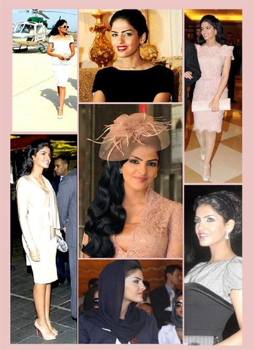 Vẻ đẹp nghiêng thành của vợ cũ Hoàng tử giàu nhất Ả Rập - 5