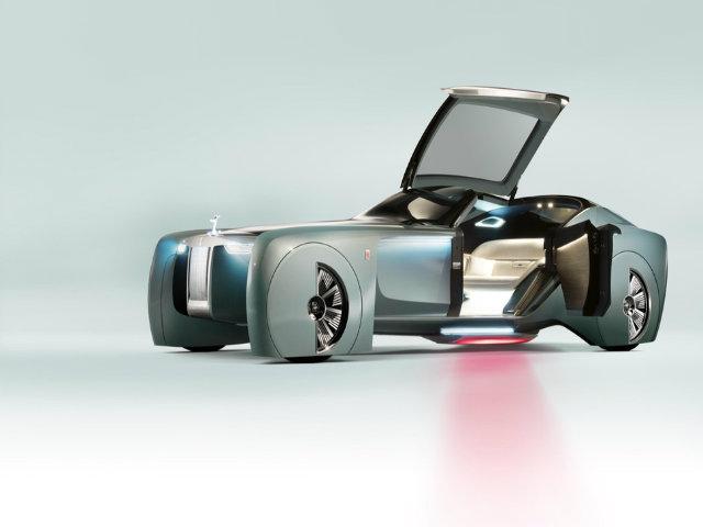 Lộ diện mẫu xe tương lai hình chiếc cốc của Rolls Royce