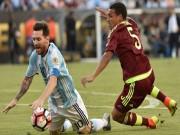 Bóng đá - Argentina - Venezuela: Bùng nổ cùng Messi