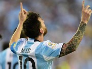 Bóng đá - Messi vinh dự khi cân bằng kỷ lục ghi bàn của Batistuta