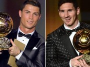 Bóng đá - Đua QBV 2016: Messi đang thắng thế Ronaldo