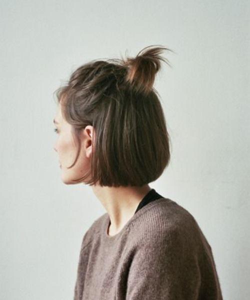 5 kiểu tóc xinh và siêu đơn giản cho nàng tóc ngắn - 1
