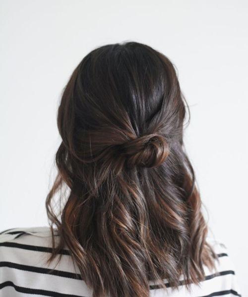 5 kiểu tóc xinh và siêu đơn giản cho nàng tóc ngắn - 4