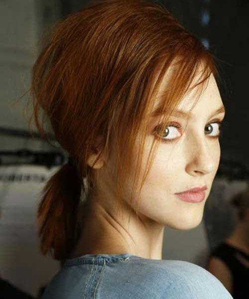 5 kiểu tóc xinh và siêu đơn giản cho nàng tóc ngắn - 7