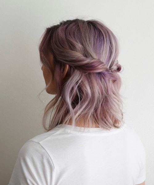 5 kiểu tóc xinh và siêu đơn giản cho nàng tóc ngắn - 11