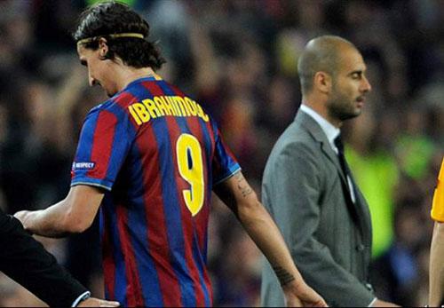 """Ibra đến MU là để """"trả thù"""" Pep Guardiola"""