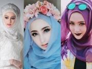 Thời trang - Hot girl Hồi giáo nổi bần bật vì xinh như thiên thần